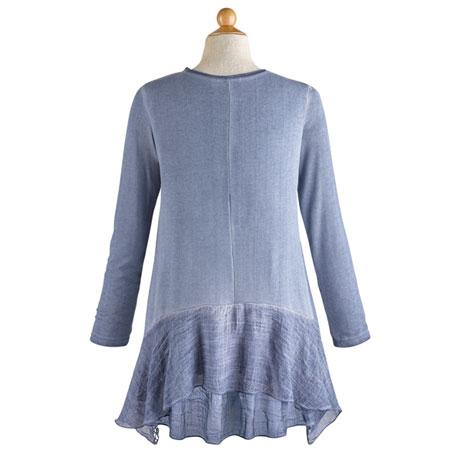 Moonlit Garden Lace Tunic