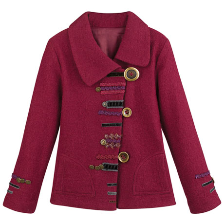 Red Parade Jacket