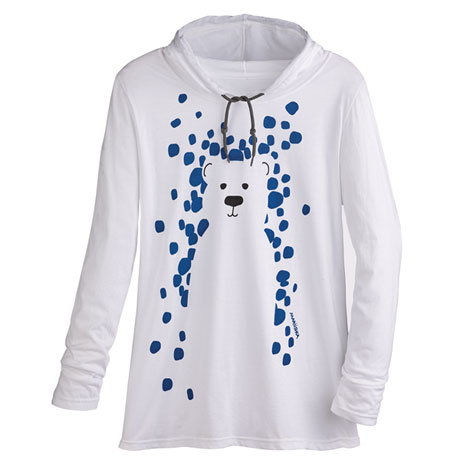 Marushka Snow Bear Hooded Tee