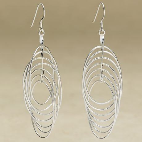 Interlocking Loop Earrings