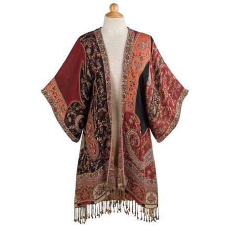 Paisley Kimono Jacket
