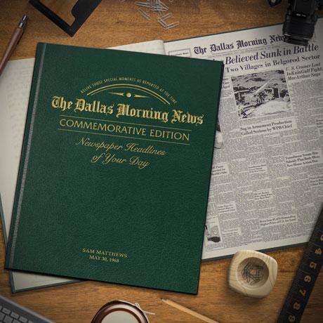 Commemorative Birthday Newspaper