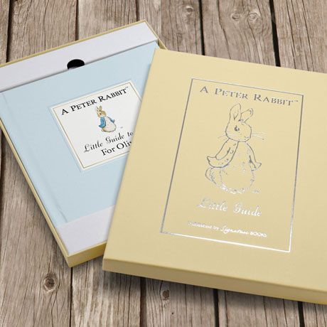 Personalized The Peter Rabbit Little Guide to Life book
