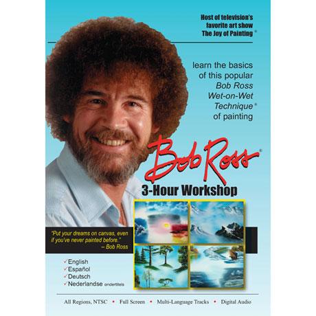 Bob Ross Joy of Painting Series: 3-Hour Workshop DVD