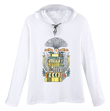 Happiness Ladies' Hooded T-shirt