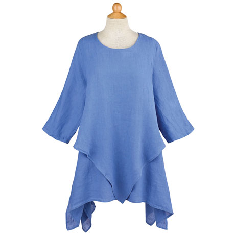 Layered Linen Tunic