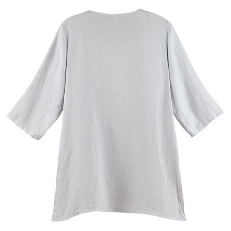 Long Layered Linen Tunic