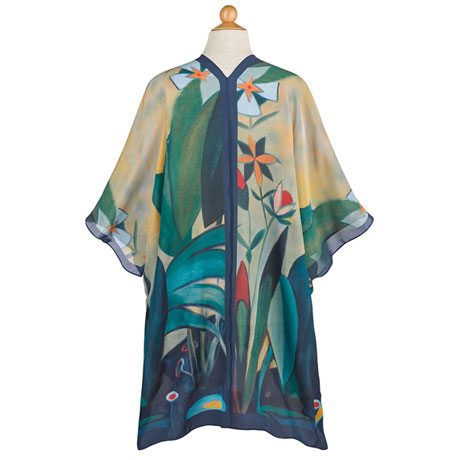 Enchanted Garden Silk Jacket