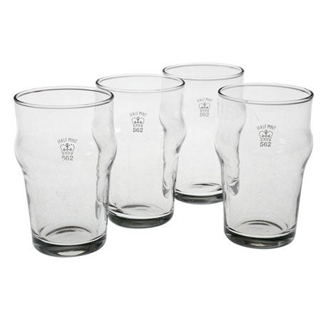 Authentic British Pub Glasses - Half-Pint
