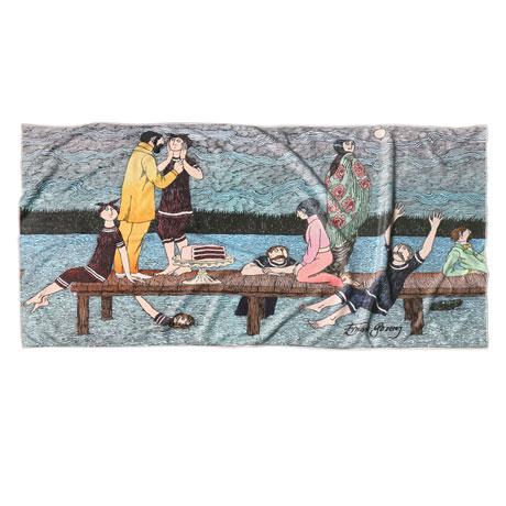 Gorey Summer Pier Towel