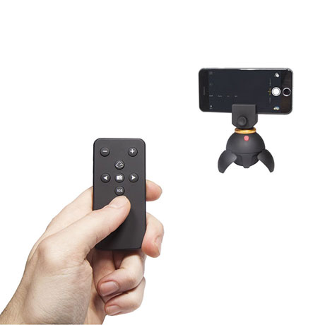 Remote Controlled Panoramic Phone Stand