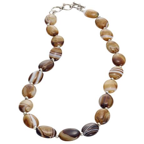Botswana Agate Necklace