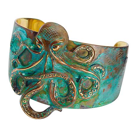Octopus Cuff Bracelet
