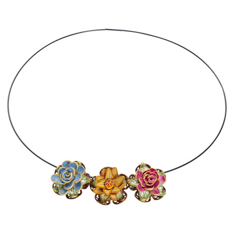 Fimo Blooms Necklace