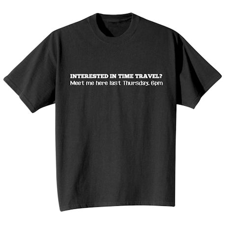 Time Travel Shirts
