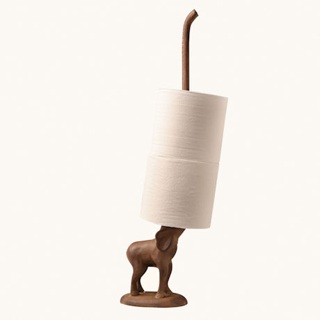 Elephant Paper Towel & Toilet Paper Holder