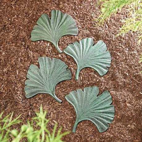 Gingko Leaf Stepping Stone