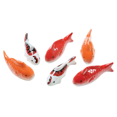 Ceramic Floating Koi Collection