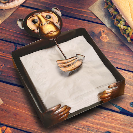 Monkey Napkin Holder