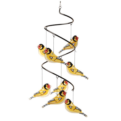 Glass Chickadees Chime