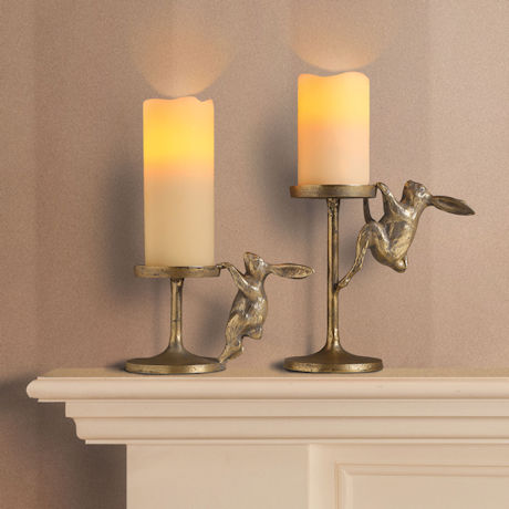 Bunnies Candle Holders