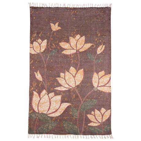 Lotuses Area Rug