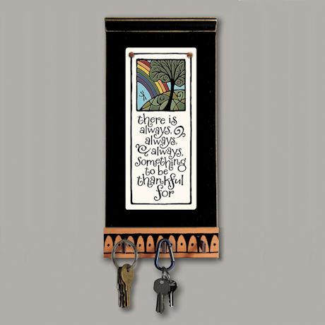 Always Thankful Ceramic Key Rack & Plaque