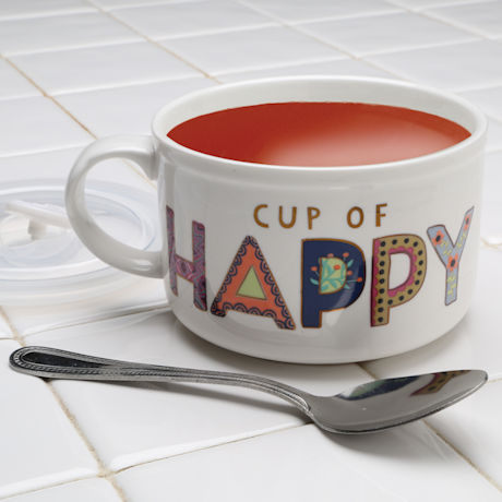 Cup of Happy Soup Mug
