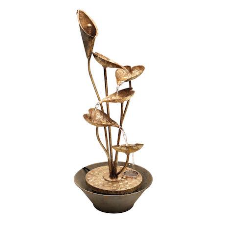 Calla Lily Table Fountain