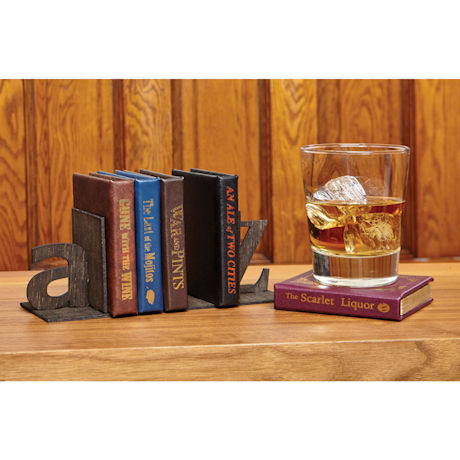 Gone with the Wine Coasters Set