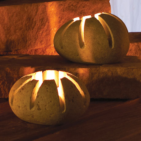 Stone Star Tea Light Holder