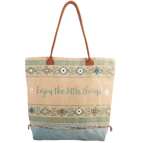 Enjoy the Little Things Tote