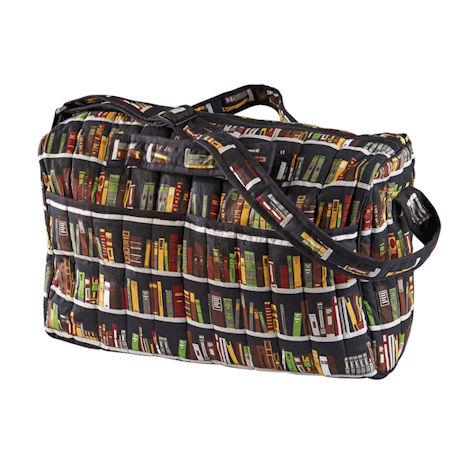 Bookshelf Weekender Bag