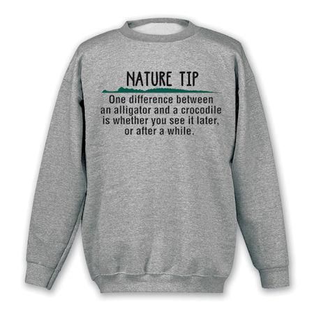 Nature Tip Shirts