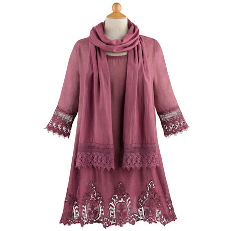 Bella Tunic and Scarf