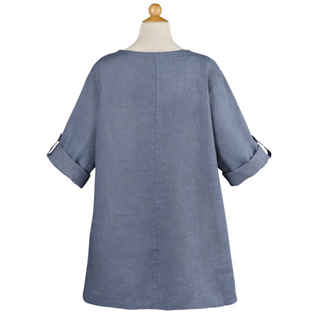 Asymmetrical Linen Tunic