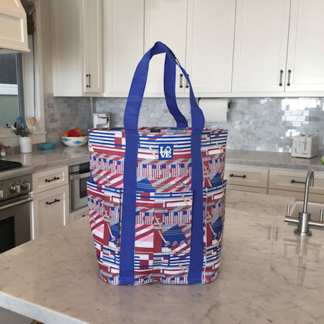 Frank Lloyd Wright® American Flags Tote