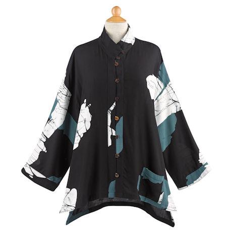 Noir Batik Jacket