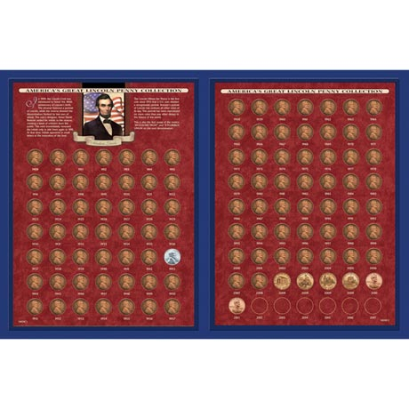 America's Great Lincoln Penny Collection 1909-2013 (Including The 1922 Lincoln Penny)