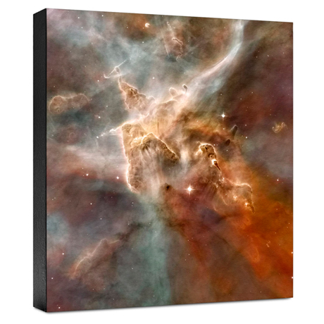 Hubble Image Canvas Print: Star-Forming Region In The Carina Nebula: Detail 1