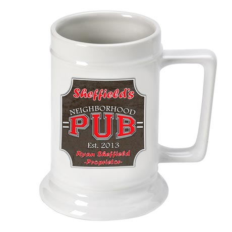 Neighborhood Pub Beer Stein