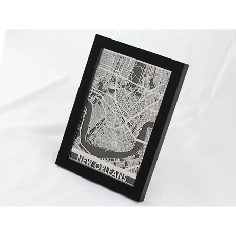 Precision Cut Street Maps