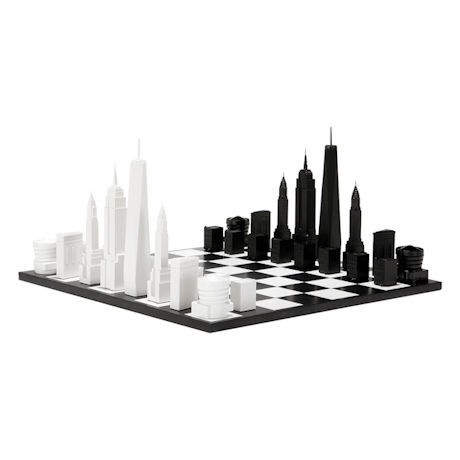 New York Skyline Chess Set