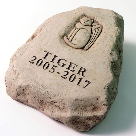Personalized Cat Memorial Stone
