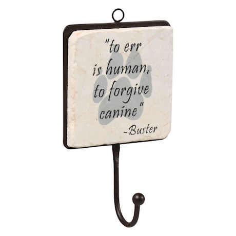 Personalized Dog Quote Wall Hook