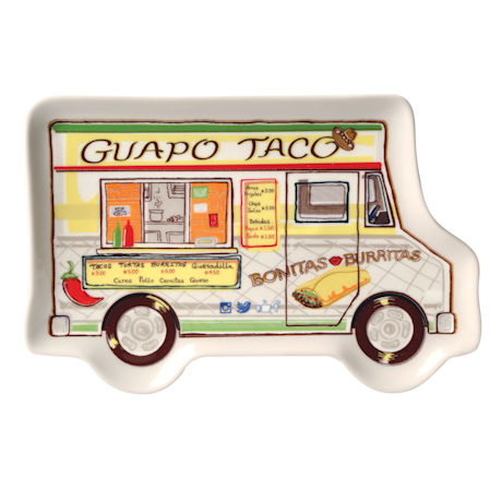 Food Truck Snack Plates Set