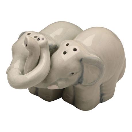 Sweetheart Elephants Salt-and-Pepper Sets