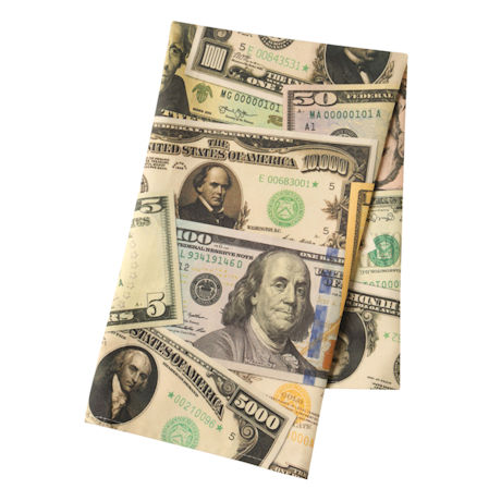 Banknotes Kitchen Towel