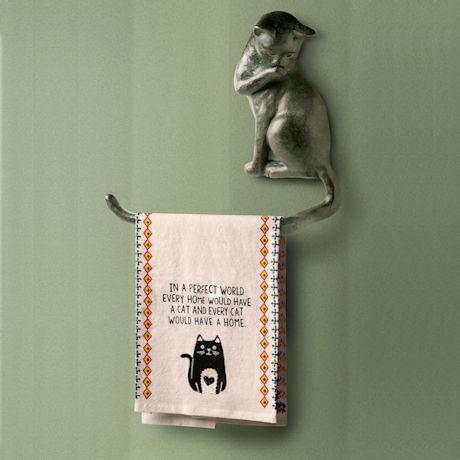Cat Toilet Paper Holder