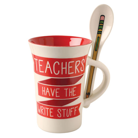 Mug and Spoon Gift Sets - Teachers